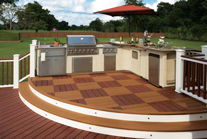 Pictures of composite deck designs and plans photo gallery designs plans ideas and photos