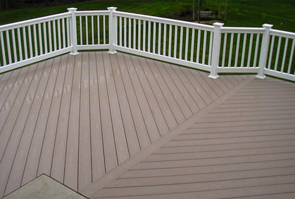 Simple Vinyl decking reviews with a gallery of pictures, design ideas and simple installation plans. designs ideas pictures and diy plans