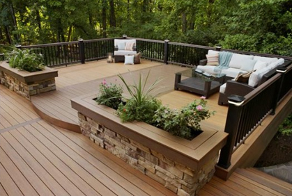 Wood Deck Design Ideas elevated covered sundeck with stairs leading down into the yard Best Best Wood Deck Design Plans For Building Wooden Decks Designs Ideas Pictures And Diy Plans
