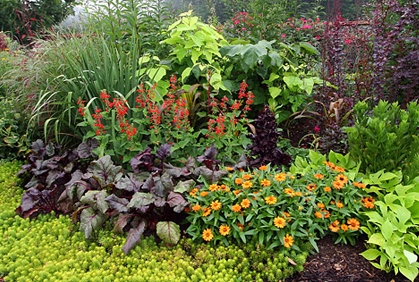 diy flower bed designs flower garden ideas flowering gardening plants designs ideas and online 2016 photo