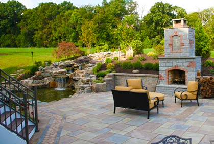 Ordinaire ... Garden Design With Backyard Landscape Designs Ideas Photos And Plans  With Landscape Water Feature From Landscapee