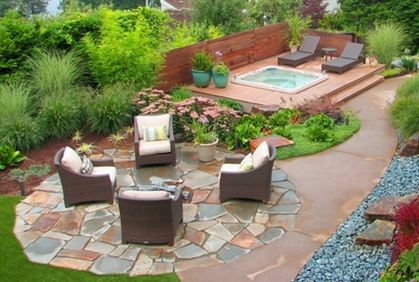 Backyard landscape designs ideas photos and plans for Design your backyard landscape
