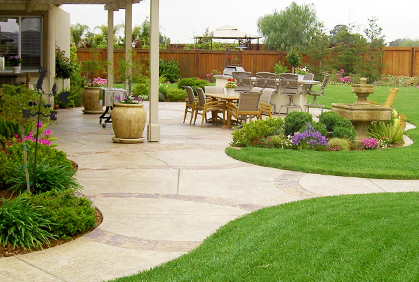 Pictures of landscaping backyards designs ideas and photos