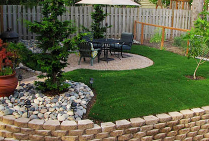 Cheap Backyard Ideas Landscaping Designs Pictures