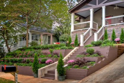 Front Lawn Design Ideas 13 tips for landscaping on a budget Simple Front Yard Landscaping Designs Ideas Pictures And Diy Plans