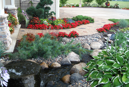 Photos landscaping designs ideas planning diy tips simple hardscape landscaping backyard front yard trees shrubs patio deck designs ideas pictures and diy plans solutioingenieria Image collections