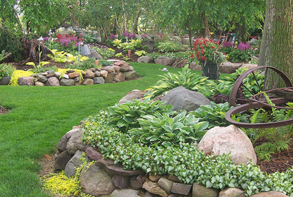 Rock Garden Ideas | Landscaping with Rocks Pictures