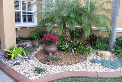 Rock garden ideas landscaping with rocks pictures for Small red rocks for landscaping