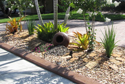Rock garden ideas landscaping with rocks pictures for Simple diy garden designs