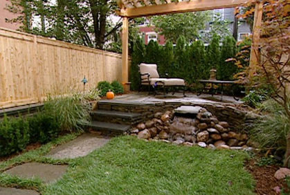 Simple Small Yard Design Ideas Photos DIY Makeovers