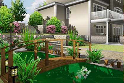 Free landscape design software online 3d downloads for Garden design 3d mac
