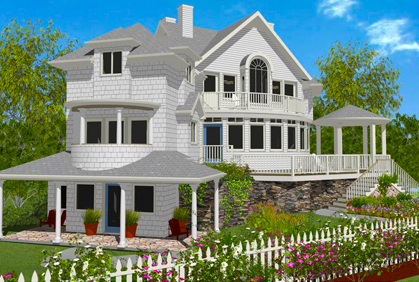 Free landscape design software online 3d downloads for The best home design software