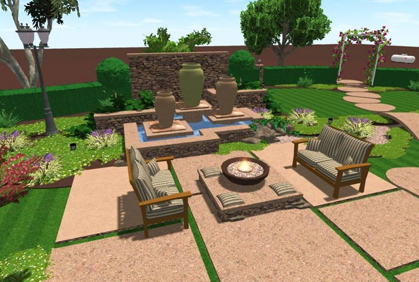 Online landscape design tool free software downloads for Architect 3d home landscape design
