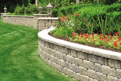 Retaining Wall Blocks 2016 Landscape Design Ideas - small retaining wall design