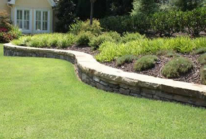 Backyard Retaining Wall Designs Plans Adorable 1000 Images About Unique Retaining Wall Ideas On Pinterest . Review