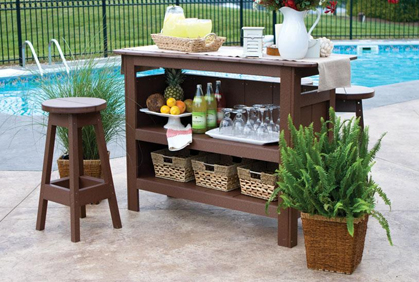 Top 2016 outdoor patio bar design ideas photos and diy makeovers