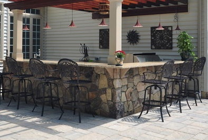 Most popular outdoor patio bar pictures with DIY design ideas and DIY plans