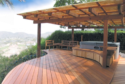 ... Simple Covered Patio Roofing Conopies Umbrellas Designs Ideas Pictures  And Diy Plans