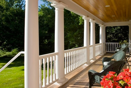 Most popular front porch decorating pictures with DIY design ideas and DIY plans