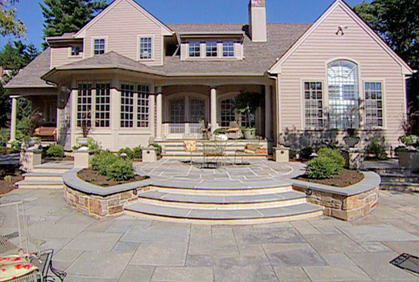 Delicieux ... Simple Patio Landscaping Designs Ideas Pictures And Diy Plans