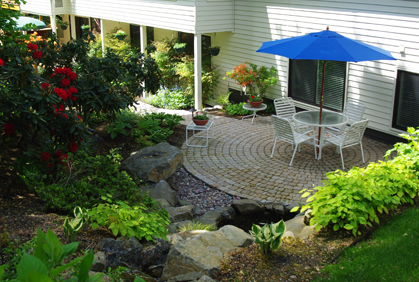 Pictures of patio landscaping designs ideas and photos
