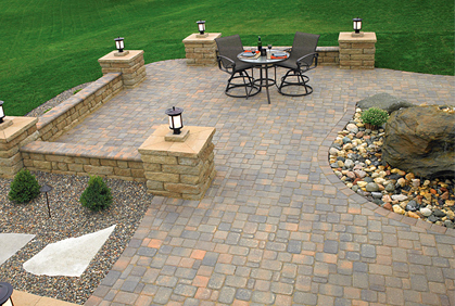 best best patio pavers how to install lay build designs ideas pictures and diy plans - Paver Patio Design Ideas