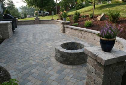 Best Patio Pavers Ideas Designs And Pictures - Block patio designs
