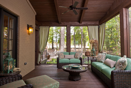 best screened in porch patio screen designs ideas pictures and diy plans - Screened In Porch Ideas Design