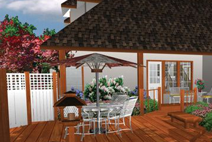 free lawn patio design software program