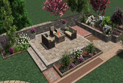 Free online patio design tool 2016 software download for Garden design 3d online