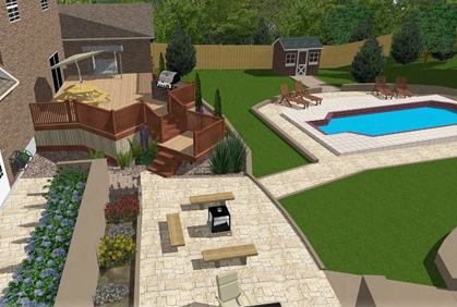 Charmant ... Simple Easy To Use Free Patio Design Software Tools Online 2016 Designs  Ideas Pictures And Diy