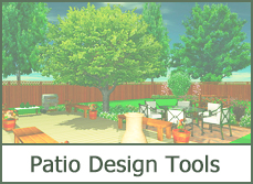 Simple Patio Design Ideas, Online Patio Design Tool