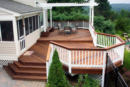 How to Build a Wood Deck | 2016 Simple Design Plans