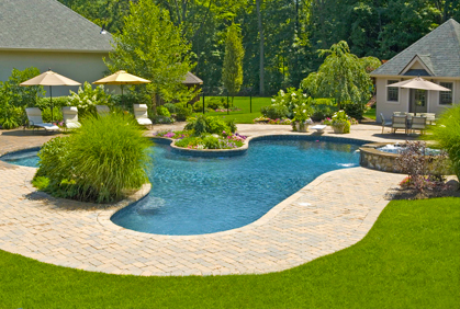 home and gardening landscape