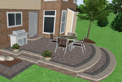Free patio design software online designer tools for Home design tool